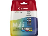 Genuine Canon Pixma ink cartridges. Sealed. 2 each of Black, Photo Black, Cyan, Magenta, Yellow