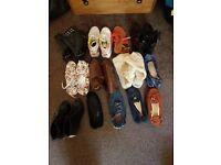 WOMENS SHOE FOOTWEAR BUNDLE SIZE 6