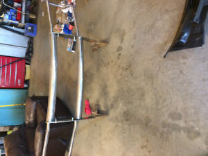 Chrome push bar off 2006 Ford 1/2 ton