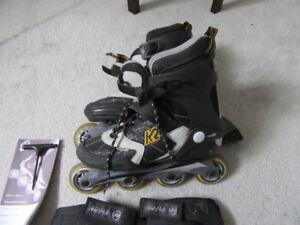 K2 Roller Blades - Size 9.0 US