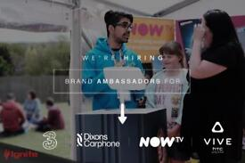 Sales Reps & Ambassadors - Top Technology and Events brands Hiring Now