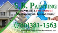 SB Painting Service (Taping, Painting, Spraying, Drywall.