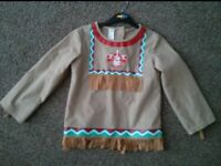 Child's Indian fancy dress/dressing up/play outfit Age 5-7