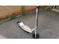 Razor Electric Scooter in Grey and Orange