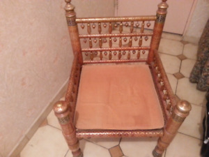 Beautifully designed hand-crafted chairs and tables