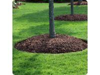 Woodchip mulch (bark chippings)