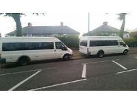 17 SEATER MINIBUS HIRE WITH DRIVER