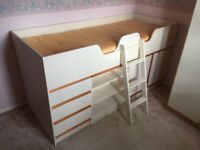 Combination bunk bed with wardrobe from hatfields