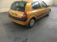 Reanult clio 2002 cheap full mot £495ono
