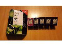Empty Ink Cartridges HP 301