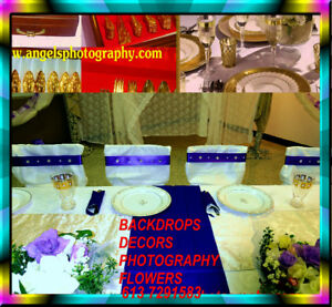 DECORS&FLOWERS+PHOTOGRAPHY&DJ&CAKE$$ SAVE at 613 7291583 EVENTS