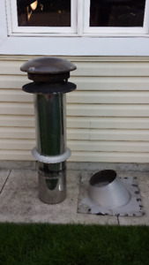 4ft Stove pipe for wood stove or BBQ $200 open to offers