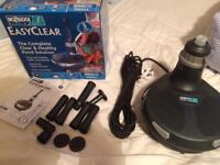 Nearly New Hozelock EasyClear 3000 all in one pond pump filter UV fountain