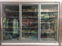 Arneg Bermo 3 door freezer unit