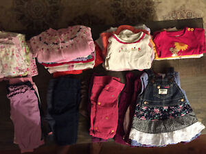 50+ Items! Girl's Clothing 3-6 months (Fall and Winter)