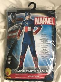 Captain America costume fancy dress