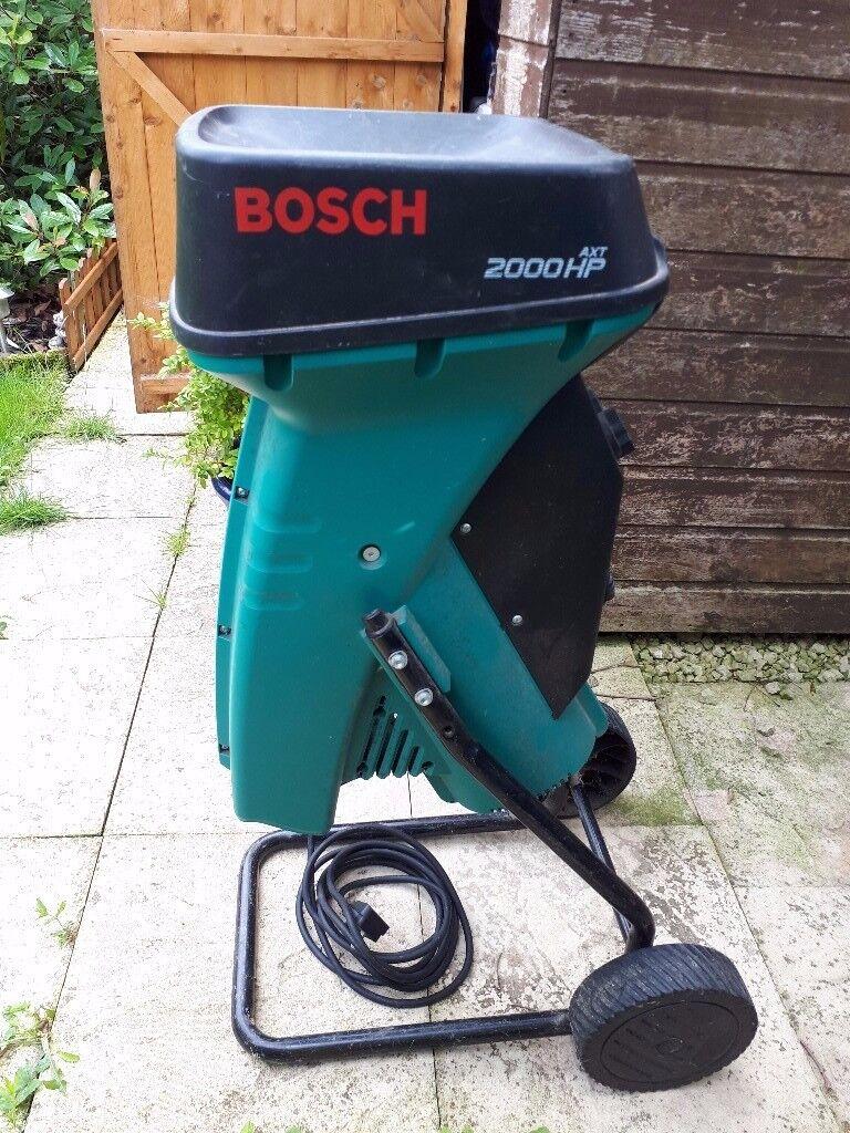 bosch 200hp shredder in tilehurst berkshire gumtree. Black Bedroom Furniture Sets. Home Design Ideas
