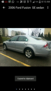 2006 Ford fusion $1200