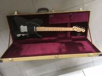 Fender Telecaster 52 Black with tweed hard case.