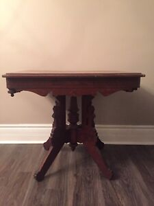 Antique Side or Serving  or End Table