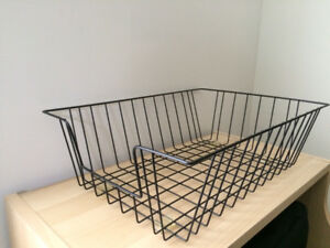 2 In Out Mail Legal Letter Tray Baskets Desk Organizer $5