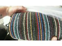 Carpet roll end sale stripe 2.61m x 4m