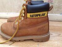 Caterpillar boys size 4 shoes