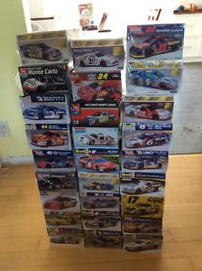 Collection de 27 NASCAR modèles réduits à construire