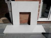 Marble Fireplace Surround - Collection only GL4