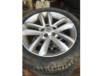 "17"" Vauxhall SRI Alloys with 215/50R17 tyres"
