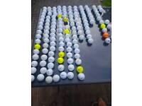 136 GOLF BALLS