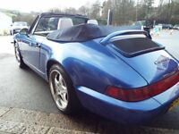 Porsche 911 carrera cabriolet, Rare Collectible