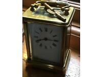 Gilt Carriage Clock 19 th century