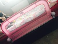 Pink summers bed guard