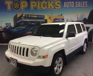 2012 Jeep Patriot SPORT, SUNROOF, ALLOY WHEELS, LOW KMS!