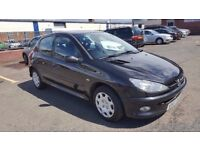 2007 Peugeot 206 Look 1.4 Petrol 5 Door Good Condition 1 year MOT only £1075
