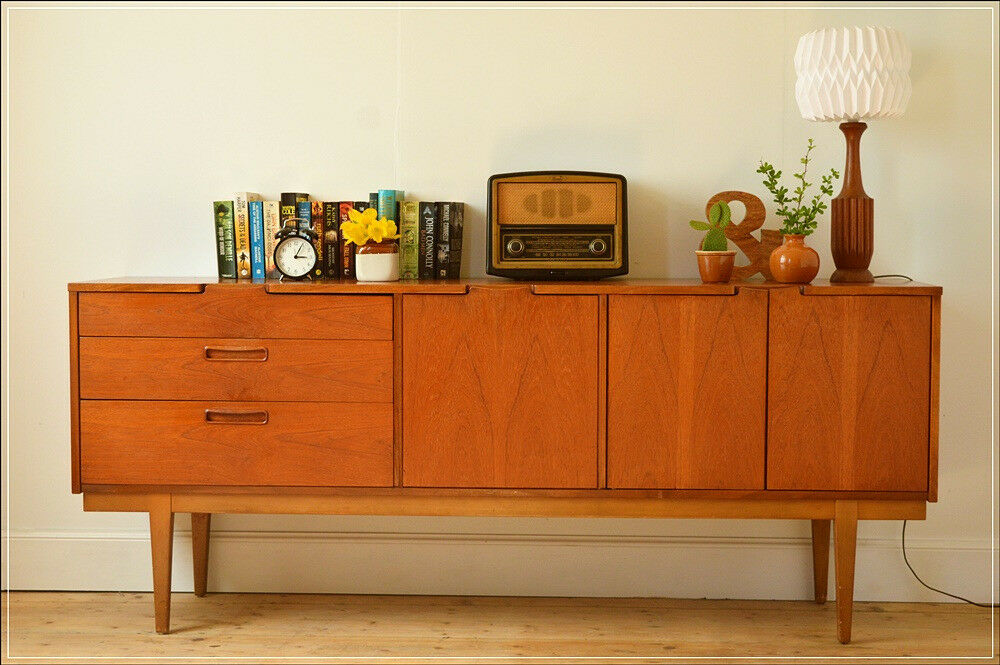 vintage sideboard teak nathan furniture mid century danish design in corstorphine edinburgh. Black Bedroom Furniture Sets. Home Design Ideas