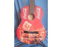 COCA COLA AMAZING DECORATIVE GUITAR