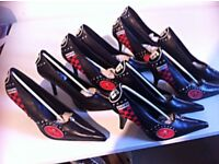 Stylish 9 pairs Brand New women and Ladies Special Shoes for sale. Grab a bargain
