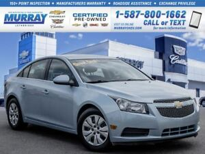 2012 Chevrolet Cruze LT **Remote Start! Automatic!**