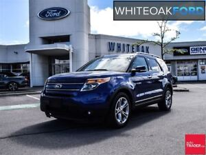 2015 Ford Explorer Limited, navi, roof, trailer tow