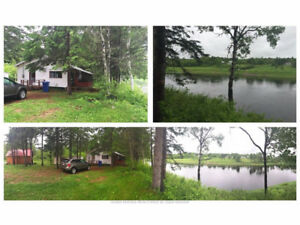 HUNTING FISHING CAMP FOR SALE- 1172 Howard Rd, Blackville