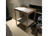 Ikea SNIGLAR baby changing table