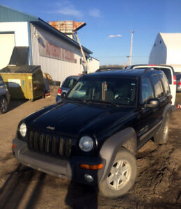 2002 Jeep Liberty SUV, Crossover incl extra set of winter tires!