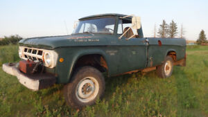 Classic 1968 Dodge Fargo Power Wagon 4x4 W200 56,000 org. miles