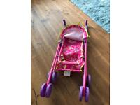 Toy pushchair Minnie Mouse