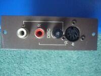 Disc (vinyl) Input module for Quad 44 amplifier