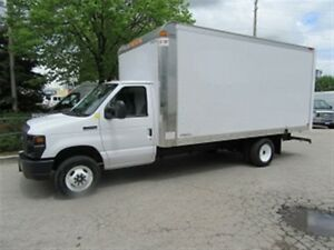 2017 Ford E-450 16 Ft Gas V/10 Cube van ( high Box )