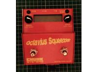 Chunk Systems Octavia Squeezer analogue bass synth pedal