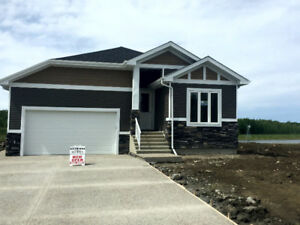Luxury bungalow on waterfront lot, open house noon to 2 pm